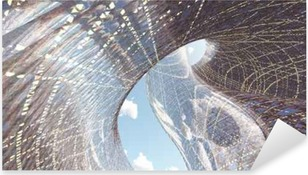 Pixerstick Aufkleber Zeitgenössische Architekturp