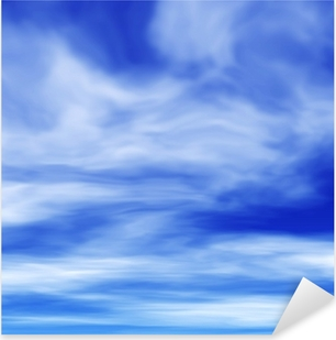 Pixerstick Aufkleber Zirruswolken