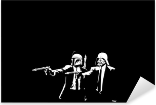 Autocolante Pixerstick Banksy