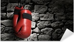 Autocolante Pixerstick Boxing gloves