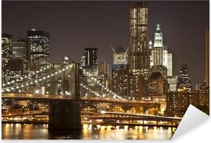 Autocolante Pixerstick Brooklyn Bridge