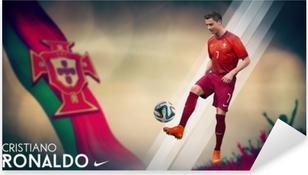 Autocolante Pixerstick Cristiano Ronaldo
