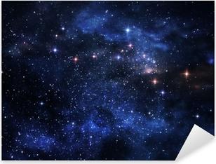 Autocolante Pixerstick Deep space nebulae