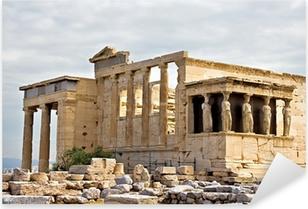 Autocolante Pixerstick Erechtheum temple ruins at Acropolis
