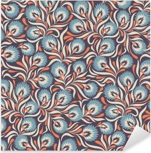 Autocolante Pixerstick Floral pattern