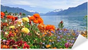 Autocolante Pixerstick Flores da primavera em flor