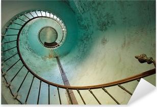 Autocolante Pixerstick lighthouse staircase