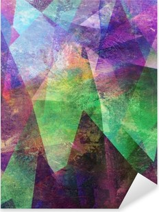 Autocolante Pixerstick Malerei graphik abstractamente