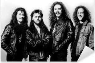 Autocolante Pixerstick Metallica