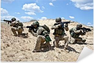 Autocolante Pixerstick military operation