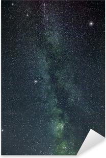 Autocolante Pixerstick milky way stars