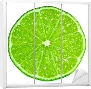 Autocolante para Roupeiro Green Limes