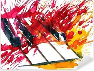 Autocolante Pixerstick piano