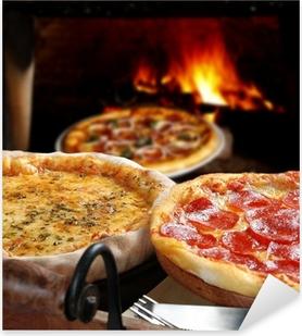Autocolante Pixerstick Pizza