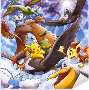 Autocolante Pixerstick Pokémon