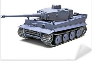"Autocolante Pixerstick Scale model German tank ""TIGER"""