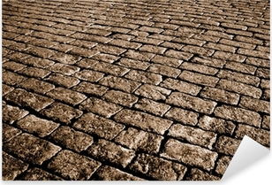 Autocolante Pixerstick sepia cobblestone