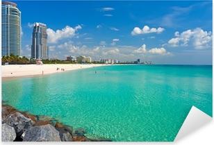 Autocolante Pixerstick South Beach, Miami, Florida