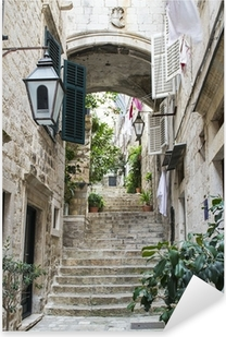 Autocolante Pixerstick Stairs in Old City of Dubrovnik