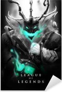 Autocolante Pixerstick Thresh - League of Legends