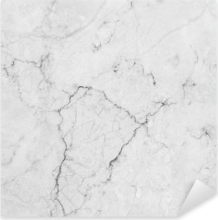 Autocolante Pixerstick White marble with natural pattern.
