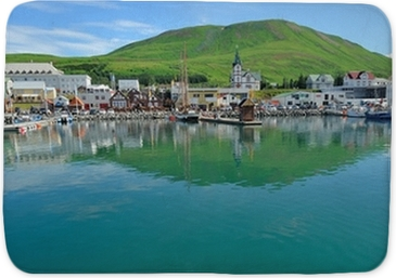 Iceland - Husavik harbour for whale