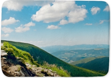 Mountain View From The Top Of Goverli Carpathians Poster Pixers