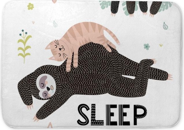 Sleep Bath Mat - Motivations
