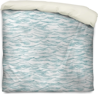 Bettbezug Meer, Ozean, nahtlos