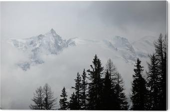 Bild auf Acrylglas Gipfel der Berge