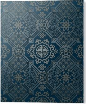 Tapeten orientalische muster wohn design - Tapete in fliesenoptik ...