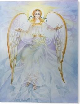 """Bild auf Alu-Dibond Aquarell """"Angel"""""""