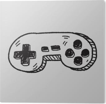 Bild auf PVC Doodle-Spiel-Controller