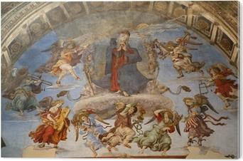 Bild auf PVC Rom - Heilige Maria im Himmel und Engel