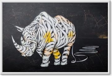 Bild i Ram Noshörningslabeln