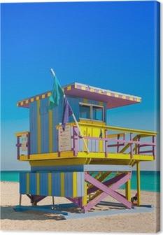 Livredder Tower i South Beach, Miami Beach, Florida Billeder premium