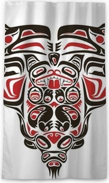 47dbe7cdf Haida style tattoo design Body Pillow • Pixers® - We live to change