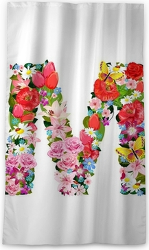Romantic Letter Of Beautiful Flowers M Wall Mural Pixers We