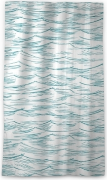 sea, ocean, seamless Blackout Window Curtain