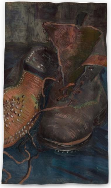 32afe7547019f9 Vincent van Gogh - Shoes Blackout Window Curtain • Pixers® • We live ...