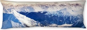 mountain landscape Body Pillow