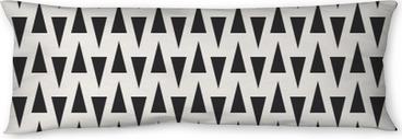 seamless geometric pattern Body Pillow