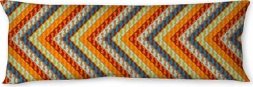 Zigzag geometric pattern Body Pillow
