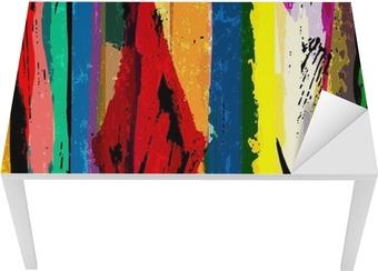 Abstrakt baggrund med striber, malestrøg og stænk, a Bord og skrivbordfiner