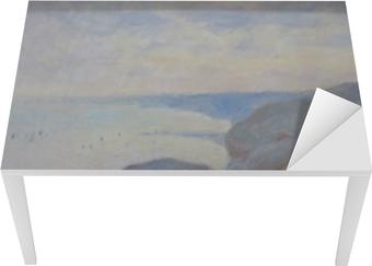 Claude Monet - Steef Cliffs nær Dieppe Bord og skrivbordfiner