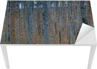 Gustav Klimt - Birch Forest Bord og skrivbordfiner