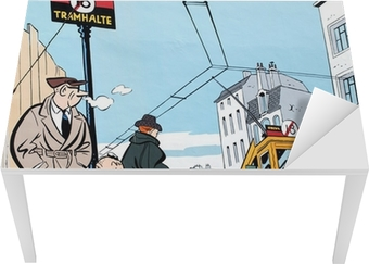 Maleri maleri i Bruxelles Bord og skrivbordfiner