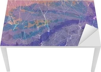 Pink og lilla grunge abstrakt baggrund illustration Bord og Skrivbordfiner