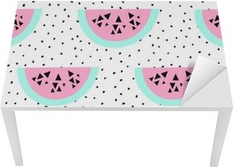 Problemfri vandmelon mønster Bord og Skrivbordfiner