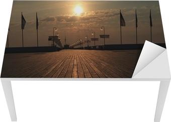 Sopot molo wschód słońca Bord og skrivbordfiner